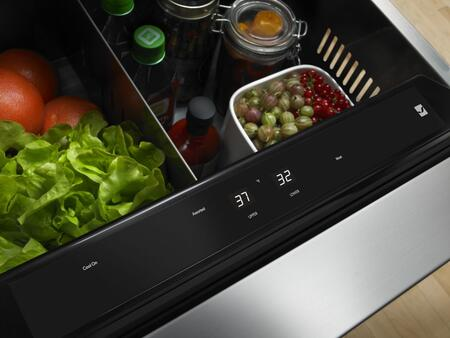 """Jenn-Air JUD24FRE 24"""" Double-Refrigerator Drawers with Dual Zone Temperature System, Automatic Interior LED Lighting, and Sabbath Mode, in"""
