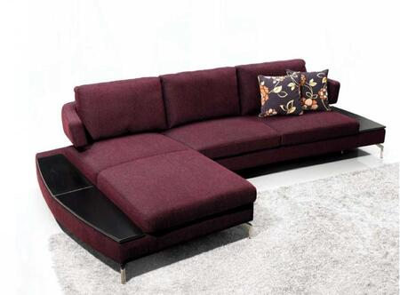 VIG Furniture VGMB1077  Sofa and Chaise Fabric Sofa  Appliances Conncetion