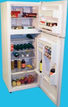 Haier HRF10WNDWW Freestanding Top Freezer Refrigerator with 10.3 cu. ft. Total Capacity