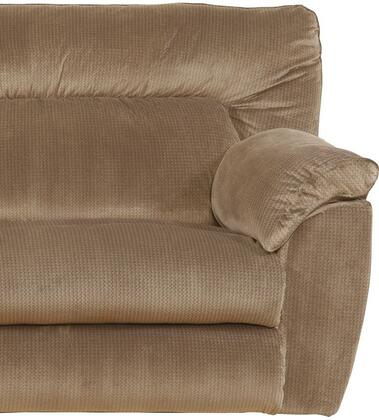 "Catnapper Nichols Collection 1670-7- 51"" Lay Flat Recliner with Fabric Upholstery, Pillow Top Arms and Split Back in"