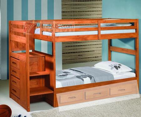 Donco 1012  Twin Size Bunk Bed