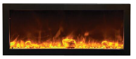 Amantii BI50SLIMOD Panorama Series Wall Mountable Electric Fireplace