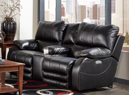 Catnapper 64279115208125208 Sheridan Series Faux Leather Reclining with Metal Frame Loveseat