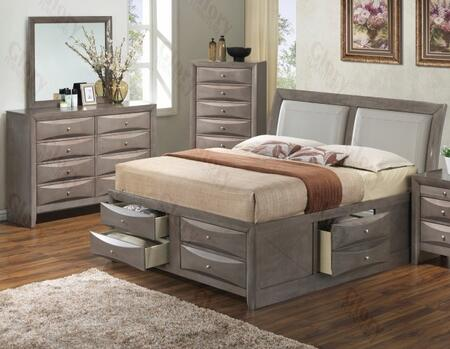 Glory Furniture G1505IKSB4DM G1505 King Bedroom Sets