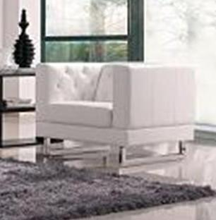 DG Casa 61501SWHT  with Wood Frame in White