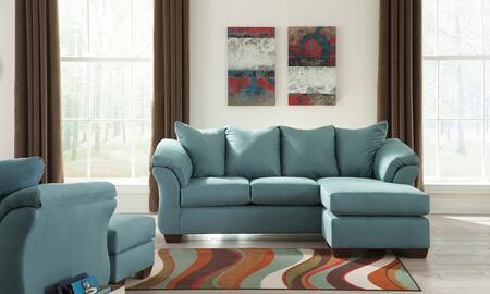 Milo Italia MI7909SCHCSKY Tristian Living Room Sets