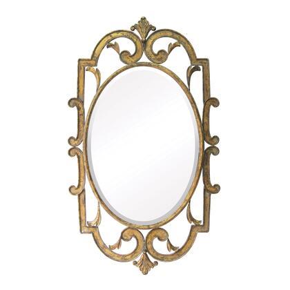 Sterling 55214 Woodside Series Oval Portrait Wall Mirror
