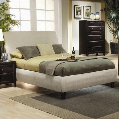 Coaster 300369KE Phoenix Series  Upholstered Bed