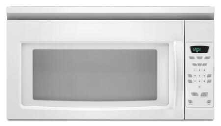 Amana AMV1150VAW 1.5 cu. ft. Over the Range Microwave Oven with 220 CFM, 1000 Cooking Watts, in White
