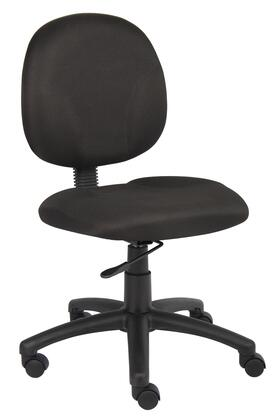 """Boss B9090 34"""" Diamond Task Chair with Contoured Back and Seat, Extra Large Seat and Back Cushions, and Pneumatic Gas Lift Seat Height Adjustment"""
