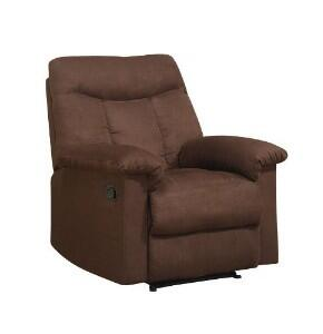 Acme Furniture 15130 Angus Series Contemporary Microfiber Wood Frame  Recliners