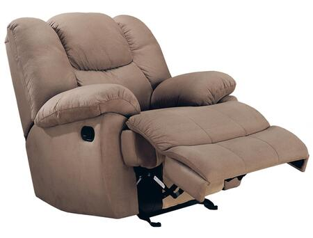 Coaster 600249 Casual Fabric Wood Frame Rocking Recliners