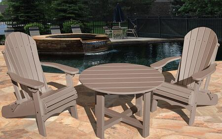 Vifah V1092SET1WW Patio Sets