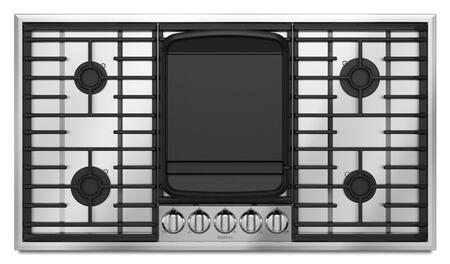 Maytag MGC8636WS  Gas Sealed Burner Style Cooktop