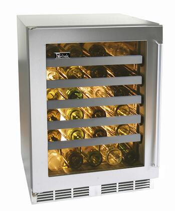 "Perlick HP24WO3LDNU 23.875"" Built-In Wine Cooler"