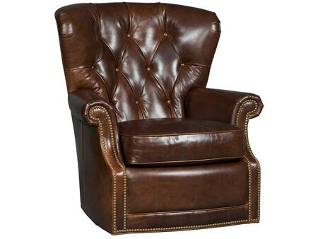 Woodward Timber Swivel Chair