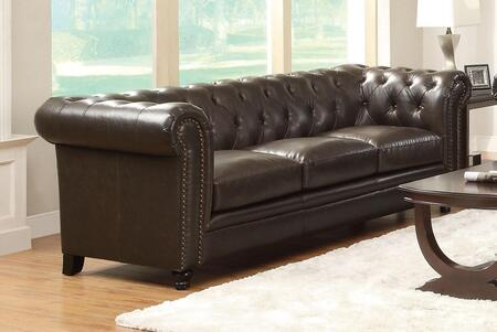 Coaster 504551 Roy Series  Bonded Leather Sofa