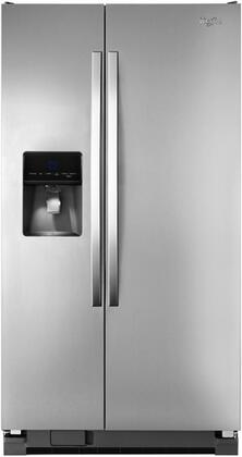 Whirlpool WRS346FIAM Freestanding Side by Side Refrigerator |Appliances Connection
