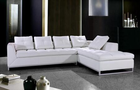 Vig Furniture Vg2t0347 Rigatto Series Sofa And Chaise