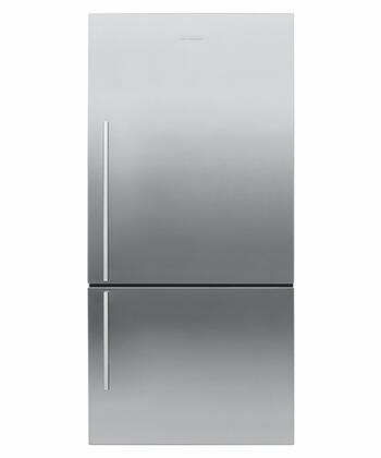 Fisher Paykel E522BRXFD2  Bottom Freezer Refrigerator with 17.6 cu. ft. Total Capacity