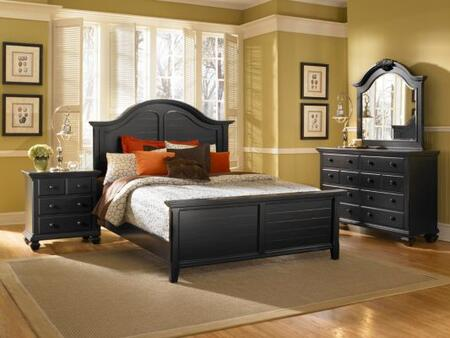 Broyhill MITRRENBEDCK Mirren Pointe Series  California King Size Panel Bed