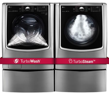 LG 665814 Washer and Dryer Combos