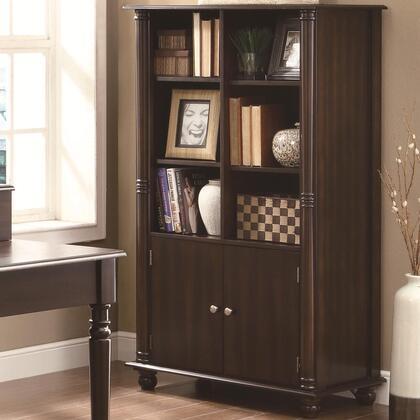 Coaster 800475 Jacqueline Series Wood 6 Shelves Bookcase