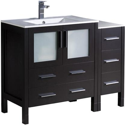 "Fresca FCB623012XXX Torino 42"" Single Sink Vanity with X Sink in"