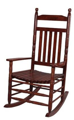 Gift Mark 3500 X Natural Wood Handcrafted Deluxe Extra Tall Back Rocking Chair in