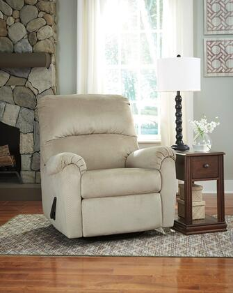 Flash Furniture FSD1119RECGLDSNDGG Bronwyn Series Contemporary Fabric Metal Frame  Recliners