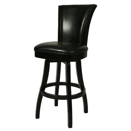 Pastel Furniture QLGL2193 Glenwood 26 in. Counter Height Swivel Barstool