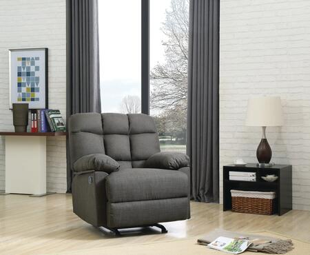 Glory Furniture G553RC G553 Series Fabric  Recliners
