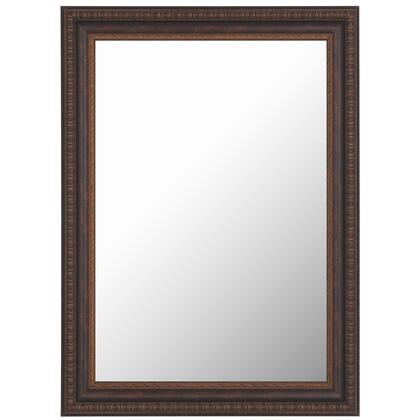 Hitchcock Butterfield 68110X Reflections Olde English Aged Copper Framed Wall Mirror