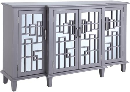 Donny Osmond Home 950645 Home Accents Series Freestanding Wood None Drawers Cabinet