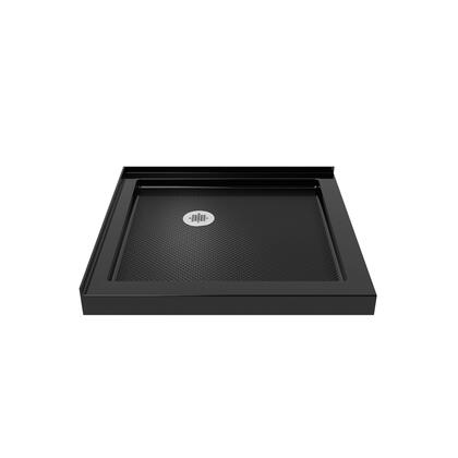 DreamLine DOUBLE THRESHOLD BASE Black Finish