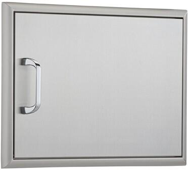 OCI OCI- Horizontal Single Access Door with Heavy Duty Hinges and Magnetic Latch: Stainless Steel