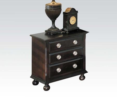Acme Furniture 01793A Amherst Series Rectangular Wood Night Stand