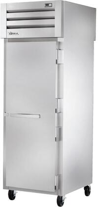 True STA1RPT-1S Spec Series Pass-Thru Refrigerator with 31 Cu. Ft. Capacity, LED Lighting, and Solid Front and Glass Rear Swing-Doors