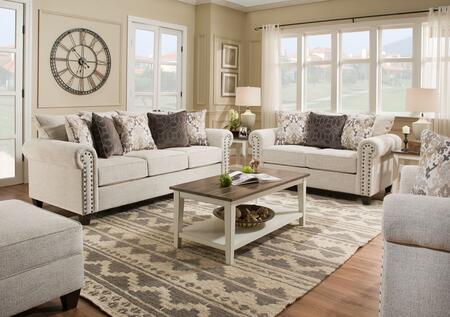Simmons Upholstery 9175BR03SET Della Living Room Sets   Appliances ...