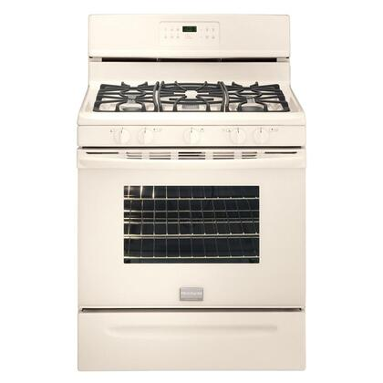 Frigidaire FGGF3031KQ Gallery Series Gas Freestanding Range with Sealed Burner Cooktop, 5.0 cu. ft. Primary Oven Capacity, Storage in Bisque