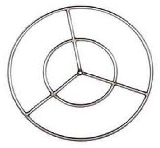 Coyote FR Fire Ring for Fire Pit with Premium Stainless Steel Construction in Stainless Steel