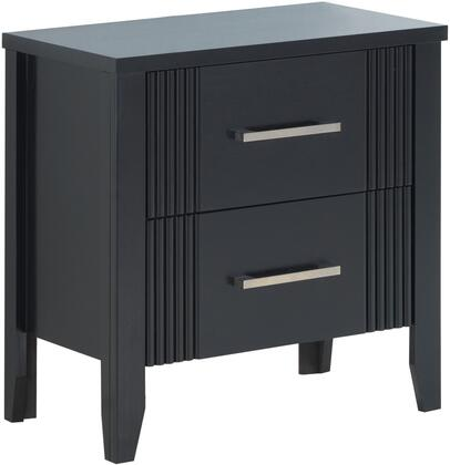 Glory Furniture G5350N Portland Series Square Wood Night Stand