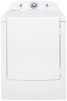 Frigidaire Affinity White Dryer, Frigidaire FARE1011MW