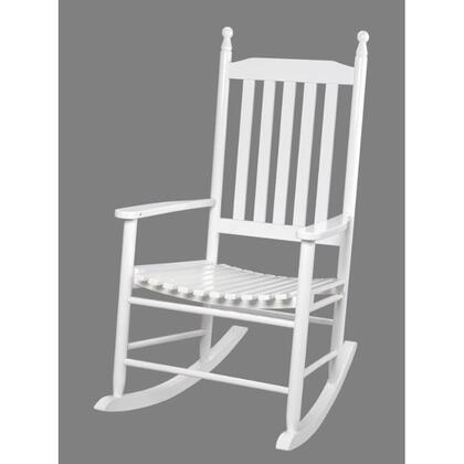 Gift Mark 3400W  Armless  Wood Frame Not Upholstered Rocking Chair