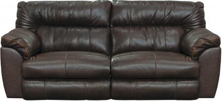 Catnapper 4341128309308309128329 Milan Series  Leather Sofa