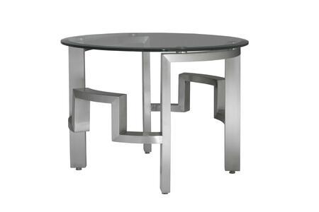 Allan Copley Designs 2110102R Contemporary Round End Table