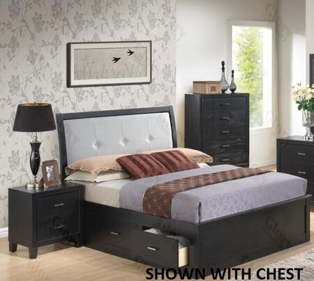 Glory Furniture G1250FQSB2N G1250 Queen Bedroom Sets