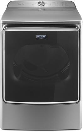 """Maytag MEDB955FC 29"""" Electric Dryer with 9.2 cu. ft. Capacity, PowerDry Cycle, Magnetic Door Latch, Steam Refresh Cycle, Sanitize Cycle and Moisture Sensor, in"""