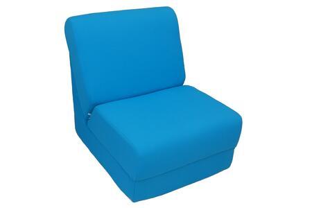Fun Furnishings 5023XP Micro Suede Teen Chair in X - Personalized