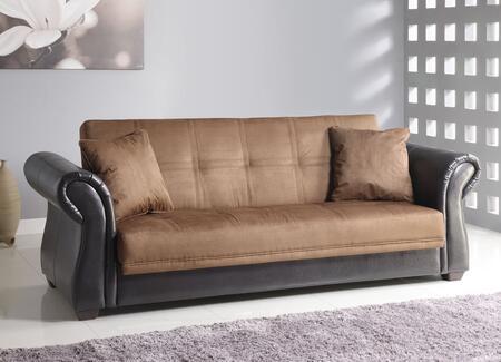Acme Furniture 15294 Kela Series  PU and Microfiber Sofa